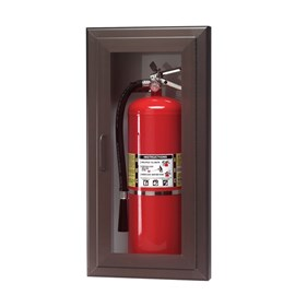 Cabinets for up to 5 Lbs ABC Fire Extinguisher