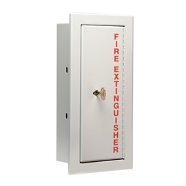 Detention Cabinet  for up to 10 Lbs ABC Fire Extinguisher