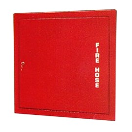 Detention Cabinet for Rack with 100 Ft Fire Hose [34 H x 26 W inches]