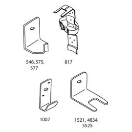 Brackets for Fire Extinguishers