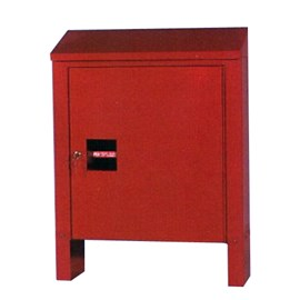 All-Aluminum Marina Fire Hose and Extinguisher Cabinet
